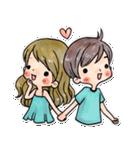 YOU & ME(個別スタンプ:01)