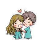 YOU & ME(個別スタンプ:38)