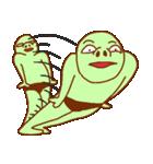 落ち着け!緑男(個別スタンプ:01)