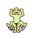 落ち着け!緑男(個別スタンプ:11)