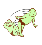 落ち着け!緑男(個別スタンプ:25)
