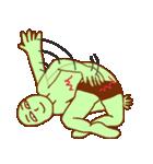 落ち着け!緑男(個別スタンプ:26)