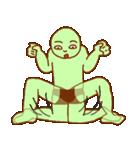 落ち着け!緑男(個別スタンプ:31)