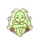 落ち着け!緑男(個別スタンプ:39)