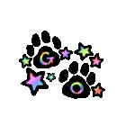 虹色の黒ねこ(個別スタンプ:25)