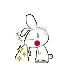 小生意気な白うさテンス(個別スタンプ:10)