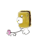 和菓子の妖精 わがちゃん(個別スタンプ:35)