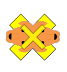 ラグビースタンプ(ワラビー)(個別スタンプ:8)