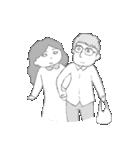 カップルの日常3 新婚編(個別スタンプ:12)