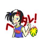 ムカつく幽霊少女(個別スタンプ:22)