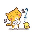 困り顔の茶トラ猫(個別スタンプ:23)