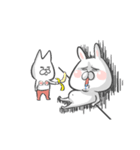 にんじん丸とブラ犬(個別スタンプ:07)