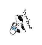 らくがきモーさん(個別スタンプ:01)
