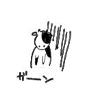 らくがきモーさん(個別スタンプ:09)