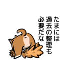 犬のタメさん語る(個別スタンプ:07)