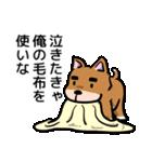 犬のタメさん語る(個別スタンプ:12)