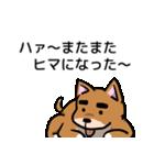 犬のタメさん語る(個別スタンプ:23)