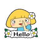 恋愛ラブリーガール!NO.2はなちゃん(個別スタンプ:04)