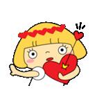 恋愛ラブリーガール!NO.2はなちゃん(個別スタンプ:09)