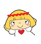 恋愛ラブリーガール!NO.2はなちゃん(個別スタンプ:14)