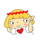 恋愛ラブリーガール!NO.2はなちゃん(個別スタンプ:15)