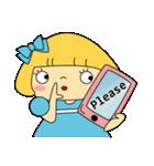恋愛ラブリーガール!NO.2はなちゃん(個別スタンプ:17)