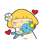 恋愛ラブリーガール!NO.2はなちゃん(個別スタンプ:19)