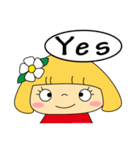 恋愛ラブリーガール!NO.2はなちゃん(個別スタンプ:38)
