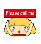 恋愛ラブリーガール!NO.2はなちゃん(個別スタンプ:40)
