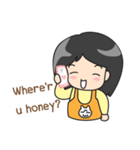 Happy Family(ENG)(個別スタンプ:03)