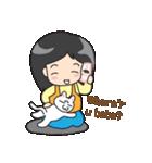 Happy Family(ENG)(個別スタンプ:04)
