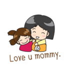 Happy Family(ENG)(個別スタンプ:17)