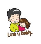 Happy Family(ENG)(個別スタンプ:18)