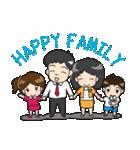 Happy Family(ENG)(個別スタンプ:39)