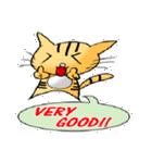 ネコの喜怒哀楽(個別スタンプ:4)