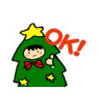 ハングルクリスマスツリー君 楽しむ準備OK(個別スタンプ:08)