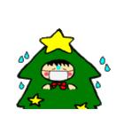 ハングルクリスマスツリー君 楽しむ準備OK(個別スタンプ:14)