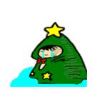 ハングルクリスマスツリー君 楽しむ準備OK(個別スタンプ:15)