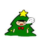 ハングルクリスマスツリー君 楽しむ準備OK(個別スタンプ:29)
