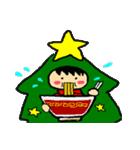 ハングルクリスマスツリー君 楽しむ準備OK(個別スタンプ:33)