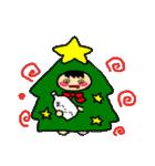ハングルクリスマスツリー君 楽しむ準備OK(個別スタンプ:36)