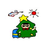 ハングルクリスマスツリー君 楽しむ準備OK(個別スタンプ:37)