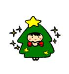 ハングルクリスマスツリー君 楽しむ準備OK(個別スタンプ:38)