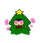 ハングルクリスマスツリー君 楽しむ準備OK(個別スタンプ:39)