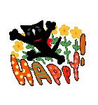 しあわせな黒猫の絵本(個別スタンプ:08)