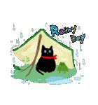 しあわせな黒猫の絵本(個別スタンプ:20)