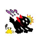 しあわせな黒猫の絵本(個別スタンプ:22)