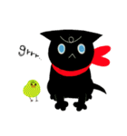 しあわせな黒猫の絵本