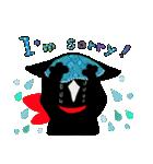 しあわせな黒猫の絵本(個別スタンプ:30)