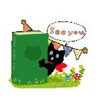 しあわせな黒猫の絵本(個別スタンプ:39)